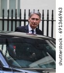 Small photo of LONDON - FEB 28, 2017: Philip Hammond Chancellor of the Exchequer seen at 10 Downing Street in London