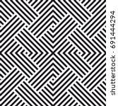 vector seamless pattern.... | Shutterstock .eps vector #691444294