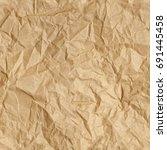 repeating crumpled brown parcel ...