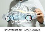 futurecar | Shutterstock . vector #691460026