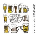 october fest. vector  beer... | Shutterstock .eps vector #691466200