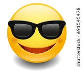 Emoji Sunglasses Smiley Face...