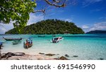lipe island thailand | Shutterstock . vector #691546990
