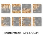 bright shimmering background... | Shutterstock .eps vector #691570234