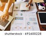businessman investment...   Shutterstock . vector #691600228