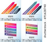 infographics design template... | Shutterstock .eps vector #691628740