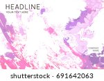 fantastic soft color and shape...   Shutterstock .eps vector #691642063