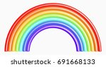 design element. 3d illustration....   Shutterstock . vector #691668133