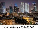 Tel Aviv Financial District...