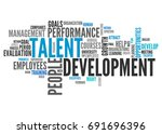 Word Cloud With Talent...