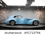 arese  italy   29.06.17  alfa... | Shutterstock . vector #691713796