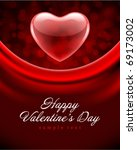 Heart Red Transparent Valentin...