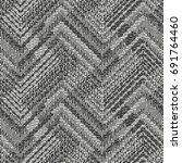 abstract broken geometric motif ... | Shutterstock .eps vector #691764460