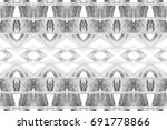 black and white rectangle... | Shutterstock . vector #691778866