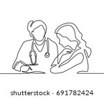 Doctor With Stethoscope Treat...