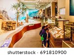 hong kong  china   january 20 ... | Shutterstock . vector #691810900