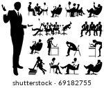 business people | Shutterstock .eps vector #69182755