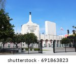 los angeles  ca usa  march 19 ... | Shutterstock . vector #691863823