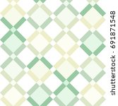 seamless vector geometric... | Shutterstock .eps vector #691871548