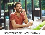 people  lifestyle and modern... | Shutterstock . vector #691898629