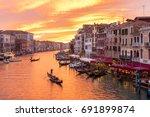 venice italy travel traditional ...   Shutterstock . vector #691899874