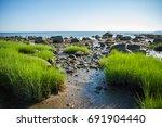 north shore of long island ... | Shutterstock . vector #691904440