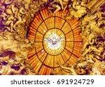rome  italy   january 18  2017... | Shutterstock . vector #691924729