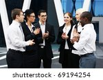 international business team... | Shutterstock . vector #69194254