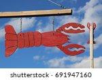 bar harbor  maine   july 3 ... | Shutterstock . vector #691947160