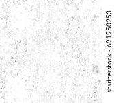 grunge halftone black and white.... | Shutterstock . vector #691950253