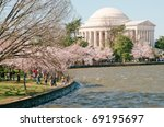 Jefferson Memorial And The...