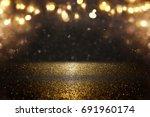 glitter vintage lights... | Shutterstock . vector #691960174