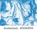 abstract artistic texture....   Shutterstock . vector #691963954
