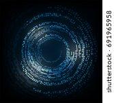 vector abstract background...   Shutterstock .eps vector #691965958