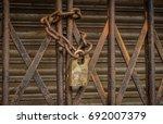 august 06 2017  kolkata  west... | Shutterstock . vector #692007379
