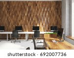 diamond wall pattern conference ... | Shutterstock . vector #692007736