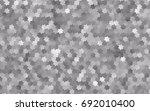 light silver  gray vector... | Shutterstock .eps vector #692010400