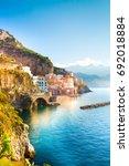 Morning View Of Amalfi...
