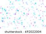 light blue vector abstract...   Shutterstock .eps vector #692022004
