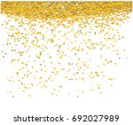 gold money rain. a lot of cash. ... | Shutterstock .eps vector #692027989