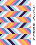 abstract pattern with colored... | Shutterstock .eps vector #692039164