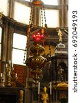 Iron Censer Hanging Above The...