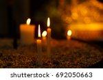 Candles Light. Christmas...