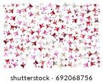 abstract vector illustration... | Shutterstock .eps vector #692068756