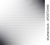 vector abstract dotted halftone ... | Shutterstock .eps vector #692072440