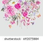 Watercolor Natural Summer...