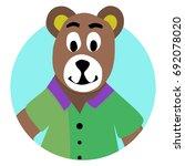 bear animal icon app. teddy...