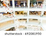 abstract blur and defocused... | Shutterstock . vector #692081950