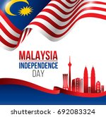 vector illustration of malaysia ... | Shutterstock .eps vector #692083324