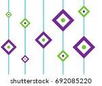 abstract pattern seamless... | Shutterstock .eps vector #692085220